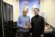 Библиотеке православной общины ИК-29 передали в дар Евангелие на армянском языке