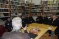 Предрождественская встреча осужденных ИК-29 с православным журналистом